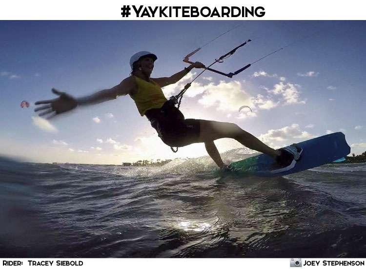 #yaykiteboarding