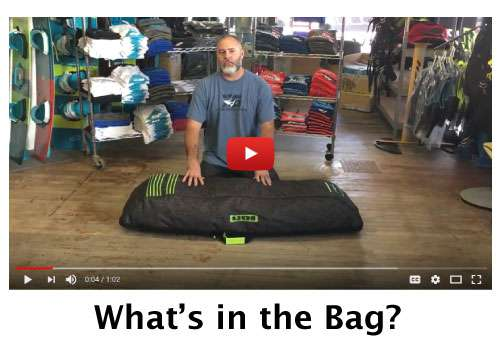 2017-2017 ION Core Wakeboard Bag - What's in the bag?