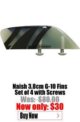 Naish 3.8cm G10 Fins