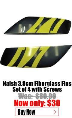 Naish 3.8cm Fiberglass fins