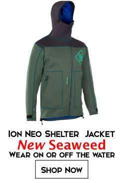 2018 ION Neo Shelter Jacket - Seaweed