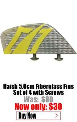 Naish 5cm Finberglass Fins