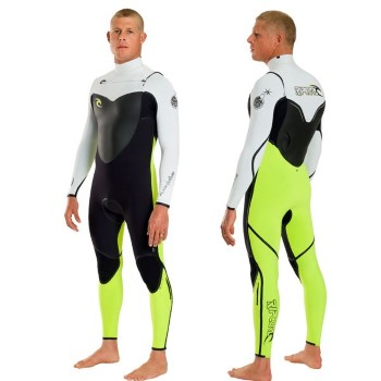 Rip Curl Flash Bomb Chest Zip 4/3  Kiteboarding Wetsuit