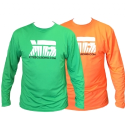 Kiteboarding.com Long Sleeve Water Jersey