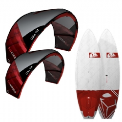 2015 Airush Wave Surf Kite Two Kite and Board Package