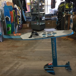 DEMO 2016 Cabrinha Double Agent Foil Board/Surf Complete
