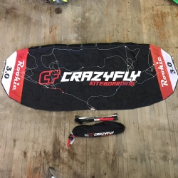 CrazyFly Rookie Trainer Kite Used 3m