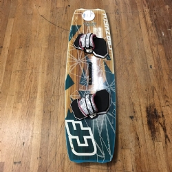 Used 2012 Crazyfly Allround 138x40 Kiteboard Complete