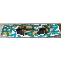 DEMO 2015 Crazyfly Allround 138x40cm Twintip Kiteboard