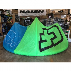 DEMO 2016 Crazyfly Cruze 15m Kite Complete