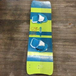 2017 Crazyfly Cruiser LW Twintip Kiteboard 154x44 Demo