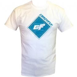 Crazyfly White T-Shirt