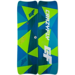 2018 Crazyfly Cruiser Double Tandem Twintip Kiteboard
