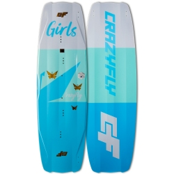 2018 Crazyfly Girls Twintip Kiteboard