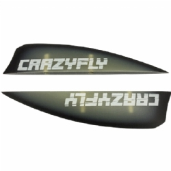 Crazyfly 3cm G-10 Fins (set of 4 w/ screws)