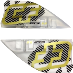 Crazyfly 5cm Razor Fins, LTD (set of 4)