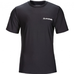 Dakine Short Sleeve Heavy Duty Rashguard - Black
