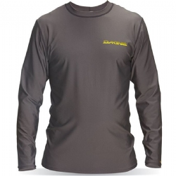 Dakine Long Sleeve Heavy Duty Rashguard - Grey