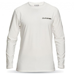 Dakine Long Sleeve Heavy Duty Rashguard - White