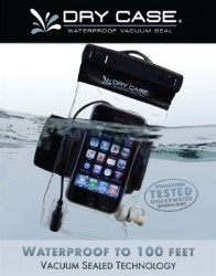 DryCase Waterproof Case for phones, cameras and music players
