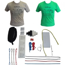 FixMyKite.com ER Fix Repair Kit & Comic Shirt