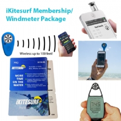 iKitesurf Membership/Windmeter Package
