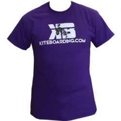 Kiteboarding.com Rooster 4.0 T-Shirt - Purple