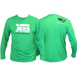 Kiteboarding.com Long Sleeve Water Jersey - Green
