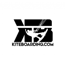 Black Kiteboarding.com Transfer Decal