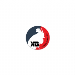 Kiteboarding.com Red Rooster Sticker