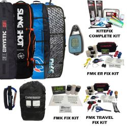 Kiteboarding Travel Package w/  Xploer 1 Wind Meter and Self Launch Tool