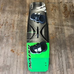Used 2019 Naish Drive 138x41.5 High Performance Freeride Twintip Kiteboard