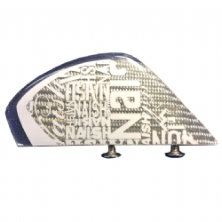Naish 5.5cm Clear Fiberglass Fins (set of 4 with screws) - 60% Off