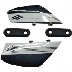 Naish 5cm Fins (set of 4 with screws)(2 left)