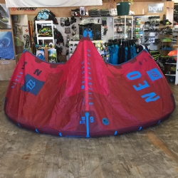 DEMO 2017 North Neo 9m Wave / Freeride Kite Complete w/ Clickbar
