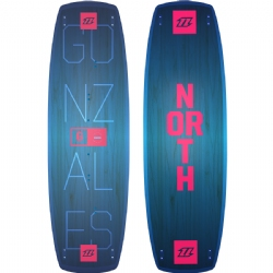 2018 North Gonzales Twintip Kiteboard - Freeride/Freestyle