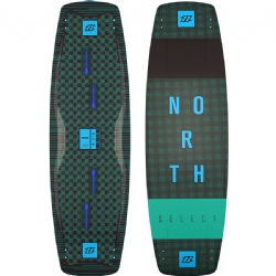 2018 North Select Textreme Twintip Kiteboard - Freeride