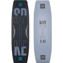 2018 North Spike Textreme Twintip Kiteboard - Freeride/Freestyle