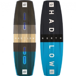 2018 North Team Series Hadlow Twintip Kiteboard - Comp Freestyle/Wakestyle
