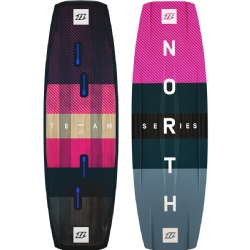 2018 North Team Series Twintip Kiteboard - Comp Freestyle