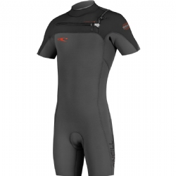 O'Neill Hyperfreak Front Zip 2mm Short Sleeve Spring Wetsuit