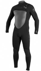 O'Neill Superfreak F.U.Z.E. Zip 4/3mm Kiteboarding Wetsuit