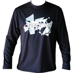 Ozone Wet Tech T-Shirt Long Sleeve - Black