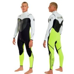 Rip Curl Flash Bomb Chest Zip 3/2 Kiteboarding Wetsuit