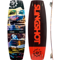 2016 Slingshot Vision Twintip Kiteboard & Bindings - 45% off