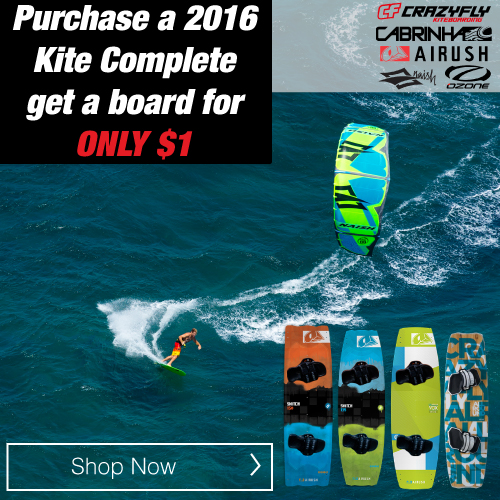 2016 Kite Complete add a board for $1