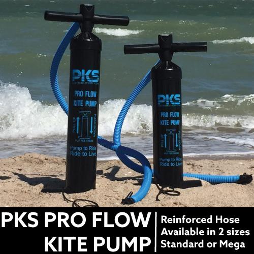 Enjoy pumping up your kite